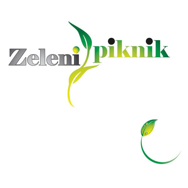 Zeleni piknik logo & CGP