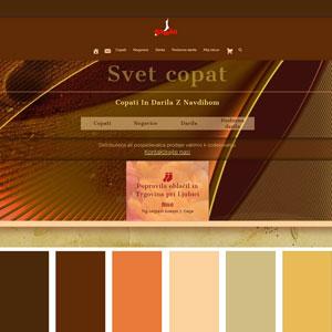 Color sheme Copati
