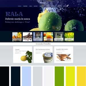 Color sheme Kala